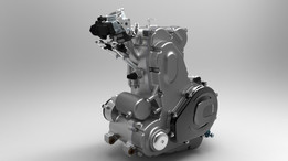 4 Stroke Engine 432cc
