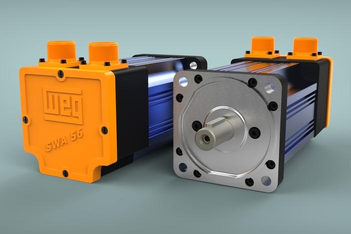 Engrenagem adapta o servo motor solidworks 3d cad for Industrial servo motor tutorial