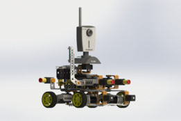 Four-wheel Drive Mobile Robot