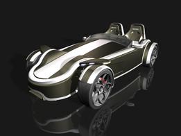 ACR Evolution Car 3d