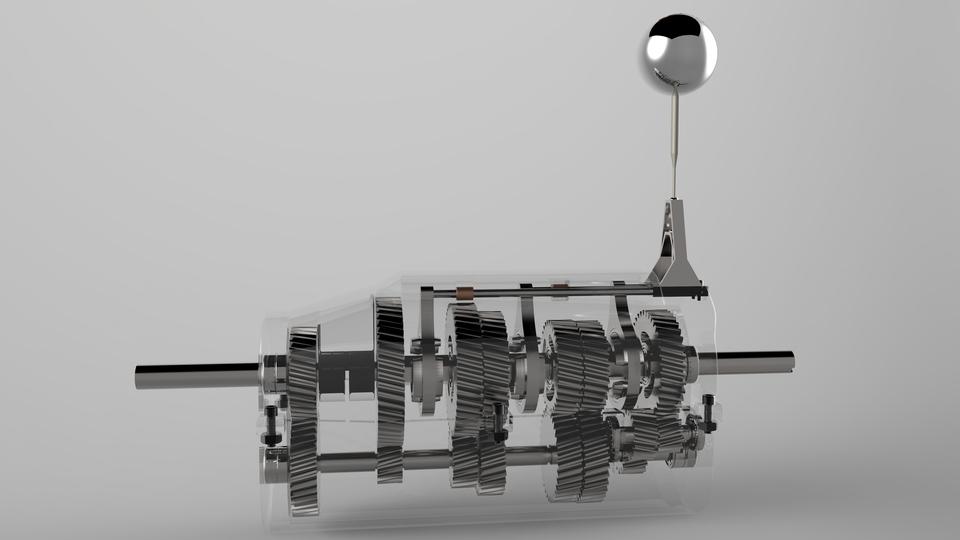 5 speed and reverse manual transmission 3d cad model library grabcad rh grabcad com LEGO Gears Manual Car