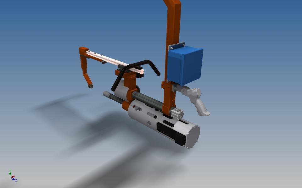 Nutrunner axle brake spider tool 3d cad model grabcad 3d tool free