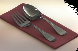 Fork Spoon Napkin