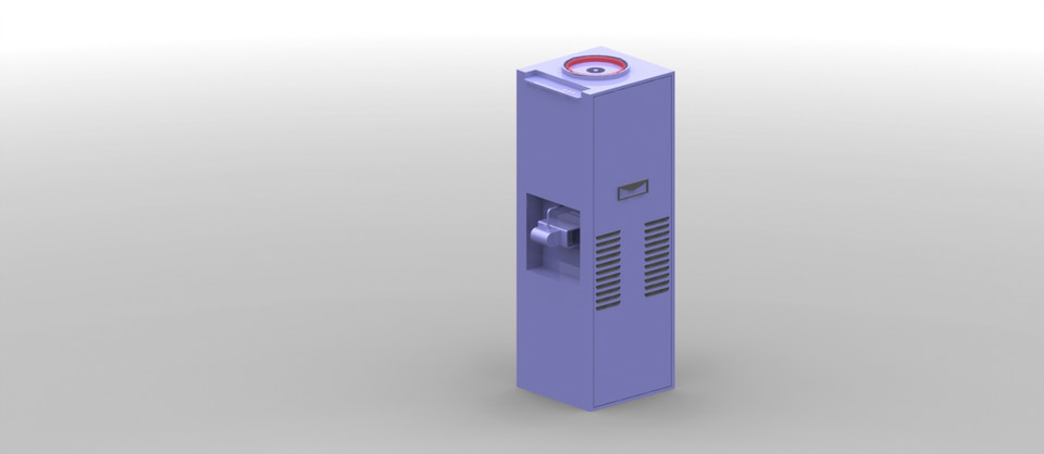 R O  Water purifier body | 3D CAD Model Library | GrabCAD