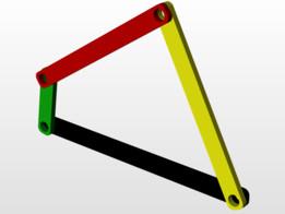 Four bar linkage