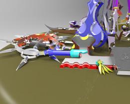 Kingdom Hearts: Organization XIII Weapons