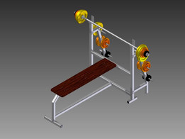 Gymnastic Machine, inventor, design, 3d