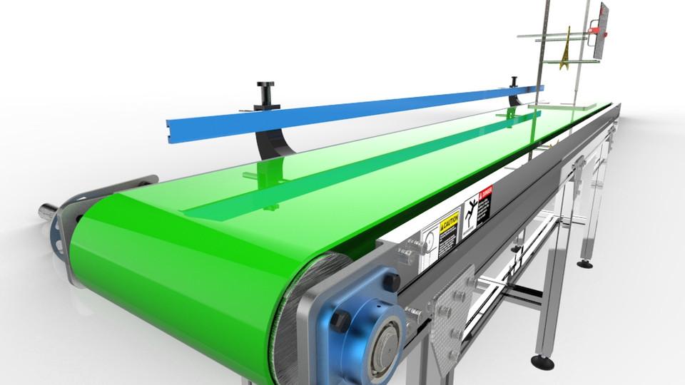 SOLIDWORKS, conveyor - Most downloaded models | 3D CAD Model