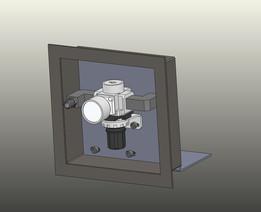 Pneumatic Mounting Box with 1/4 NPT Regulator