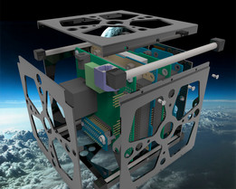 Rod Pillar 1U Cubesat