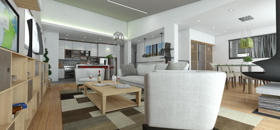 Intérieur maison | 3D CAD Model Library | GrabCAD
