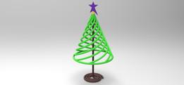 Springy Christmas Tree