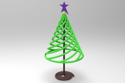 Springy Christmas Tree
