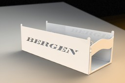 Bergen RC Helicopter Stand, Sheetmetal