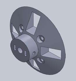 Partes impresas para scanner Raptor 3D / Printed parts for Raptor 3D scanner