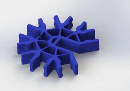 Knex Connector - Blue