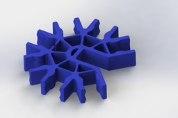 Knex Connector - Blue