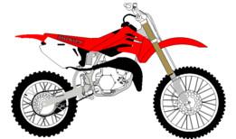 HONDA CR85 Modèle 2D