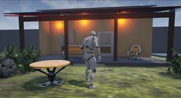 Modelo de uma casa no SolidWorks para teste na Unreal Engine 4