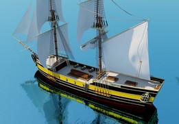 Pirate Brig ship