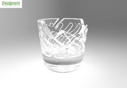 Broken Shot Glass