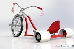 Classic Drift Trike