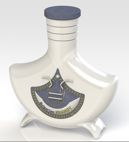 Ceramic brandy flask-Option 2