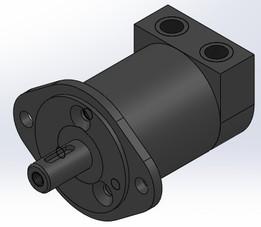 Motor Hidraulico-Vista-9 MPa