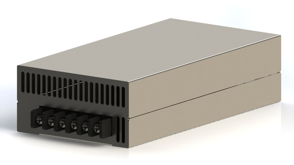 Meanwell SE-600-48 Power Supply PSU | 3D CAD Model Library | GrabCAD