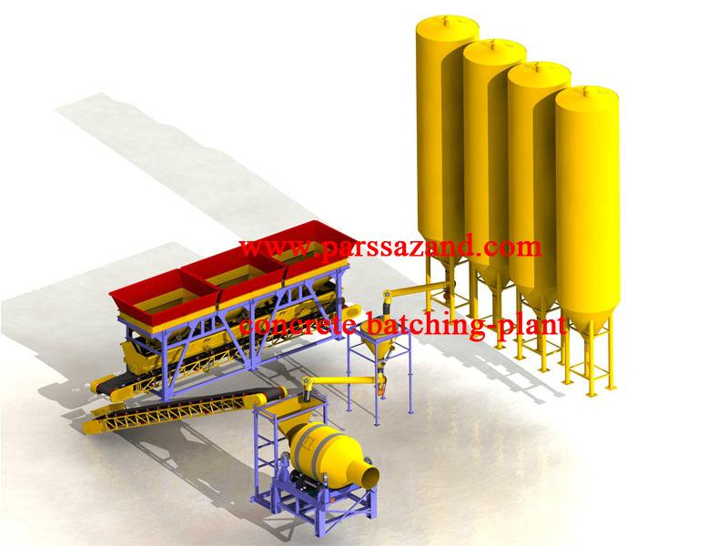 concrete-batching-plant   3D CAD Model Library   GrabCAD