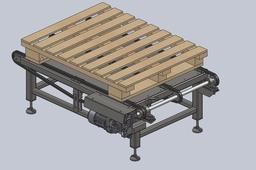 A simple chain conveyor