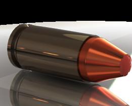 9mm HP ballistic tip cartridge