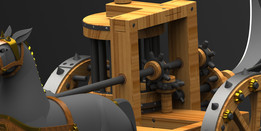 Da Vinci Scythe Chariot II