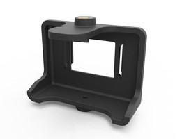 Back support for the GoPro