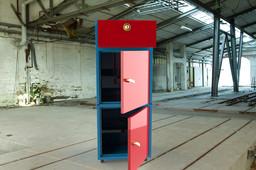 Sheet Metal File Cabinet with 2 Door