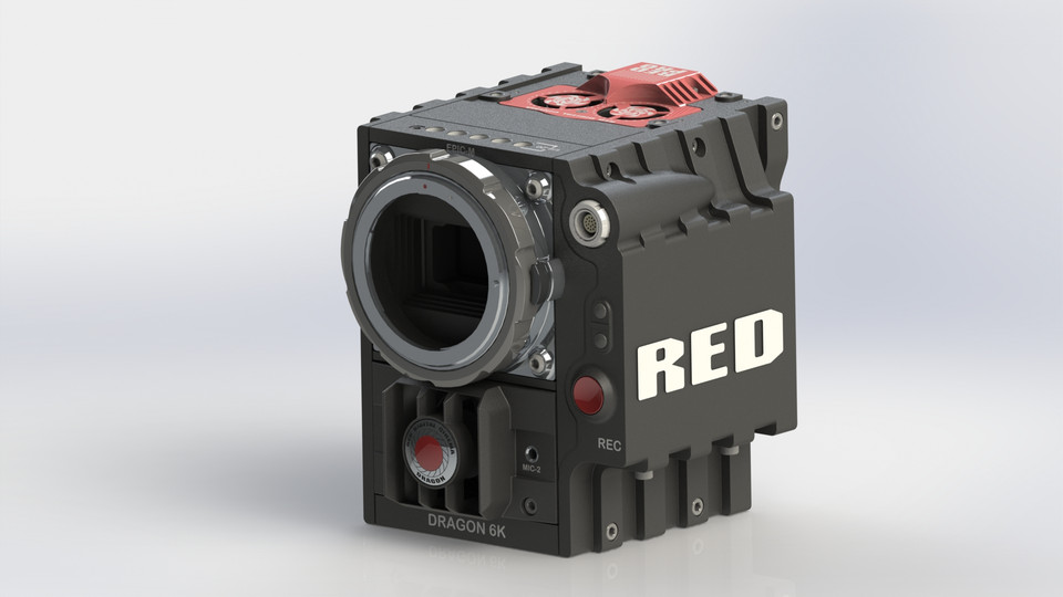 Red Epic Dragon 6K Camera | 3D CAD Model Library