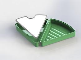 New triangle pizza box for FRESHSLICE