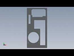 Apple Powermac G5 Custom Backplate