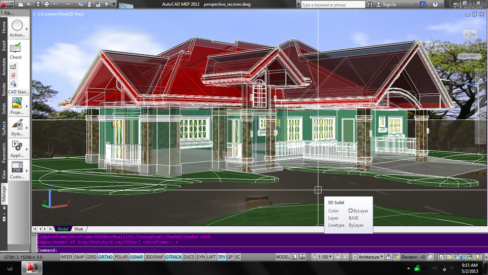 priso narchitect how to put in 3d