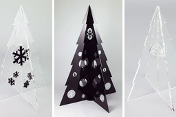 acrylic christmas tree