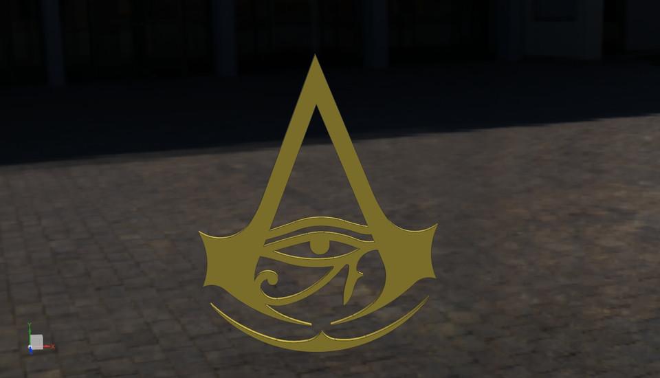 Assassin S Creed Origins 3d Cad Model Library Grabcad