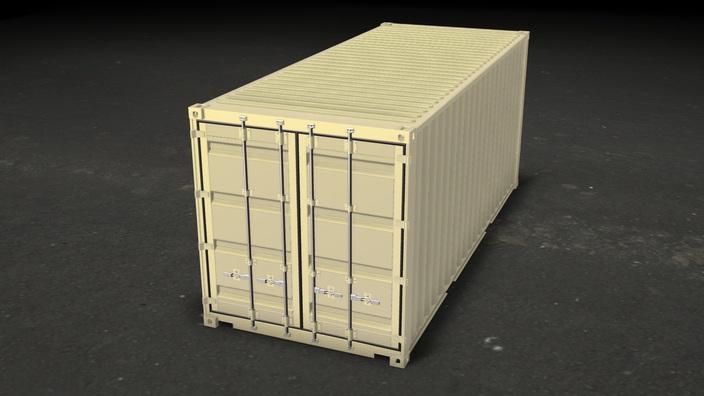 ISO CONTAINER - 1CC  - (STD) 20' (6m)