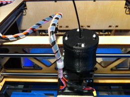 Filament Guide & Wipe system for Type A Series 1 3D printer