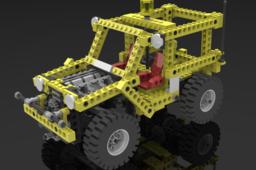 Lego Technic Model 8850 Rallye Support Truck