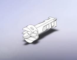 Push-pin (internal) of CPU cooler