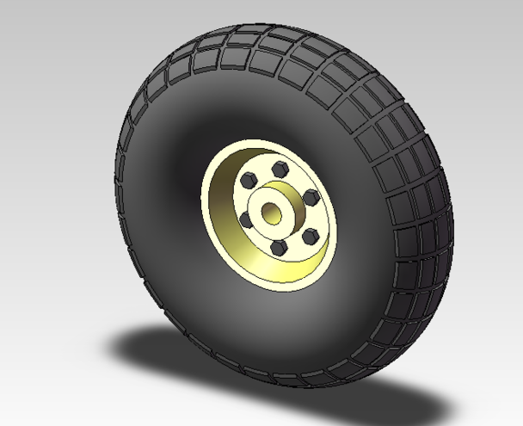 Pneumatic Tire- 10in