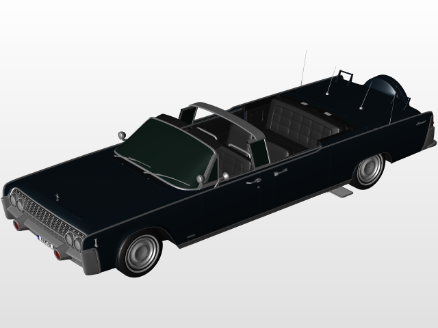 Kennedy Limo in Rhino | 3D CAD Model Library | GrabCAD