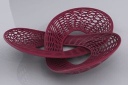3D Printable Fruit Basket