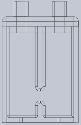Pocket Sized Electrolysis Chamber