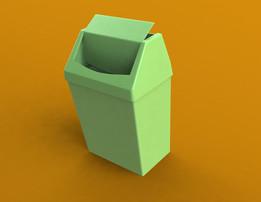 Trash bin by chupe